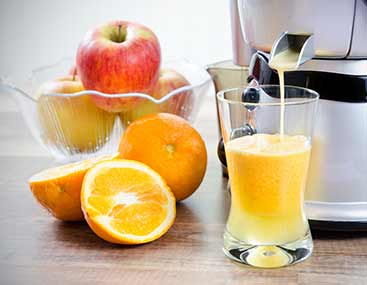 Saftpresse für Orangensaft