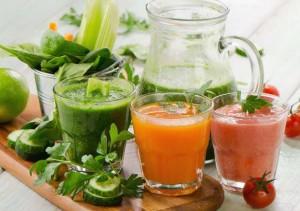 Obst und Gemüse entsaften
