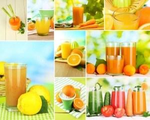 Vitaminreiche Säfte