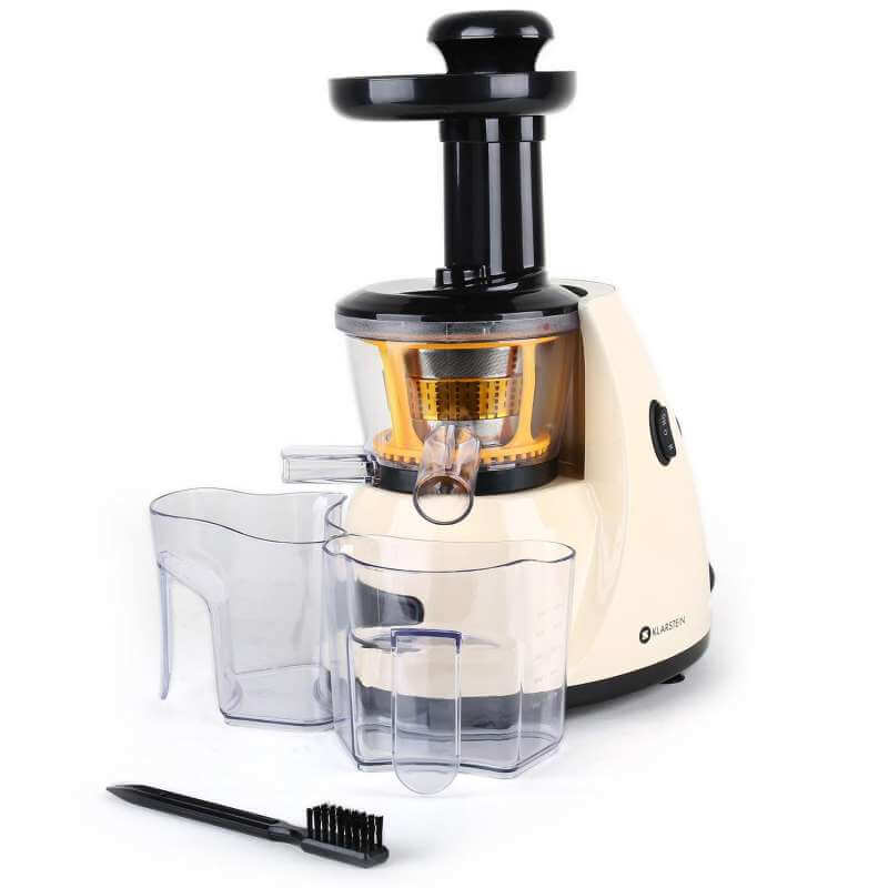 Entsafter Slow Juicer Test : Klarstein Fruitpresso Slow Juicer Test - Entsafter Test