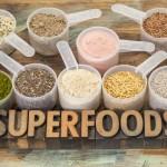 Superfoods für frische Säfte