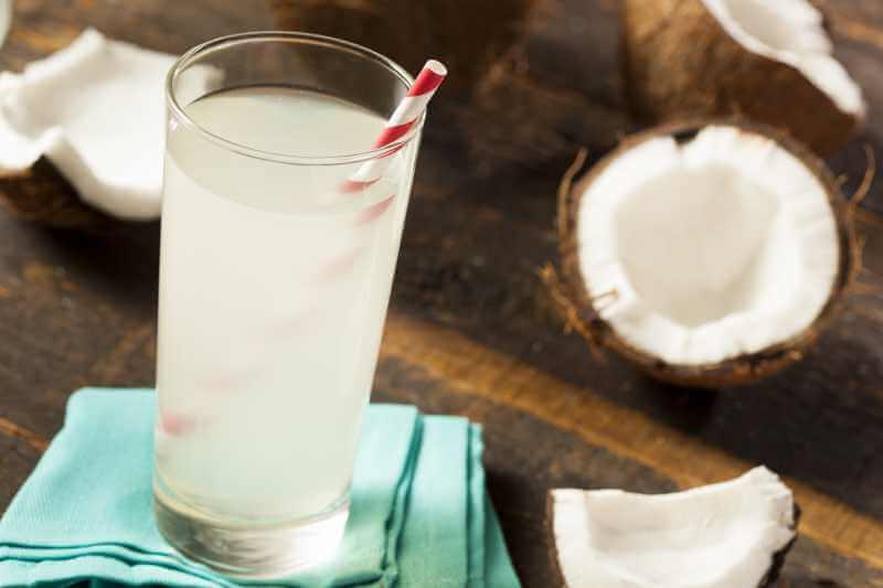 Kokosnuss-Saft