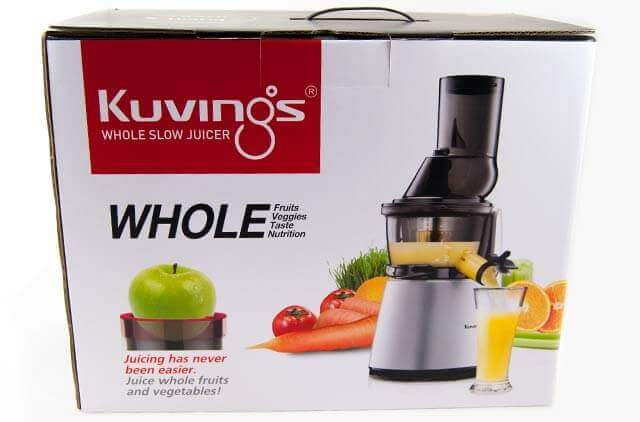 Kuvings Whole Slow Juicer C9500 Test