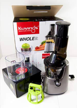 Entsafter Slow Juicer Test : Kuvings Whole Slow Juicer C9500 Test und Erfahrungen - Entsafter Test