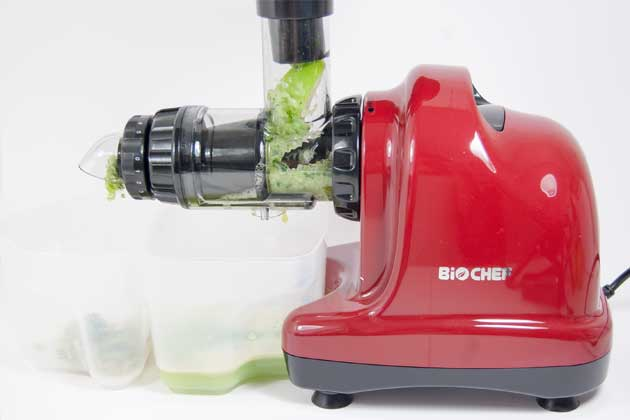 BioChef Axis Slow Juicer Säfte