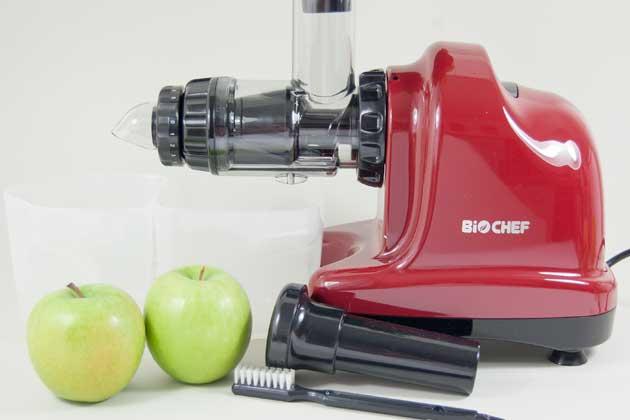 BioChef Axis Slow Juicer Horizontaler Entsafter NEU
