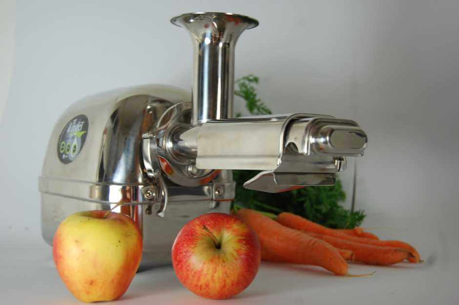 Angel Juicer - horizontaler Slow Juicer