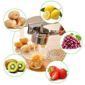 Kartoffelpressen Anwendungen