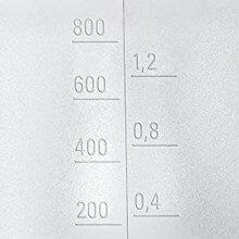 Zitruspresse Bosch MCP3500 Mess-Skala