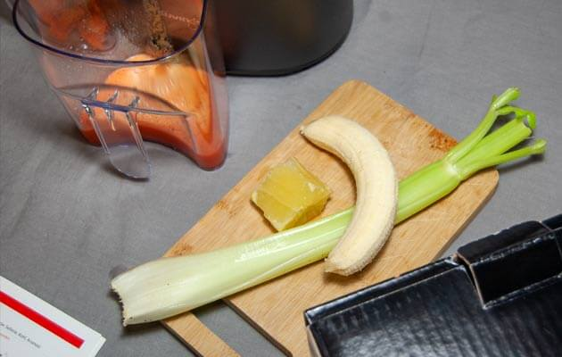 Banane, Sellerie, Zitrone